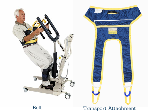 Sit And belts for sit to stand patient lifts medcare products
