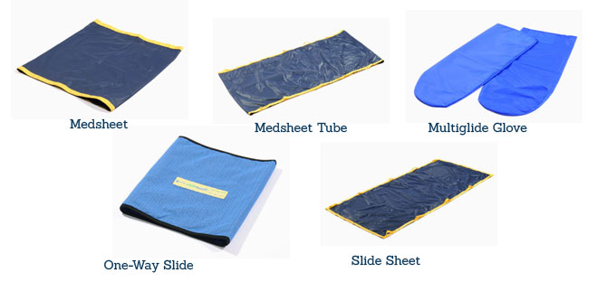 patient positioning aids, caregiver safety, medcare products, one-way slide, slide sheet, medcare products