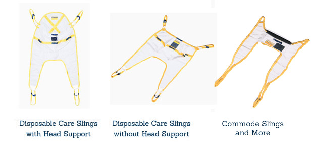 disposable lift slings, disposable lift belts, medcare products