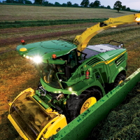 forage harversters from John Deere in Minnesota