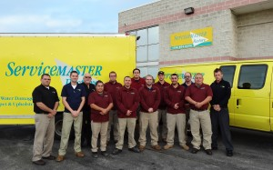 servicemaster alsip, IL cleaning and restoration services