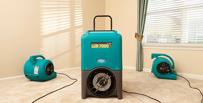residential dehumidification services in chicago il, servicemaster dsi, home dehumidification