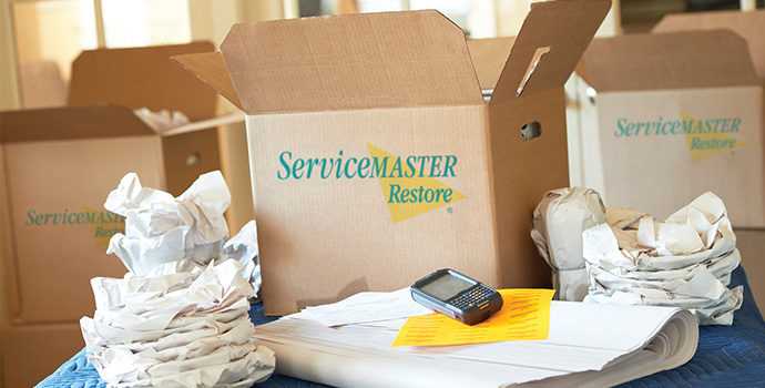 Residential packout and storage services in chicago, il, servicemaster dsi, home moving