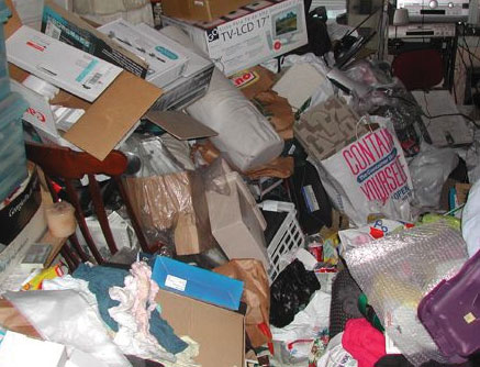 ServiceMaster Chicago Hoarder Cleanup Services, clutter cleanup