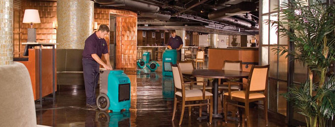 ServiceMaster Commercial Water Damage Cleanup Services, flood cleanup in Chicago