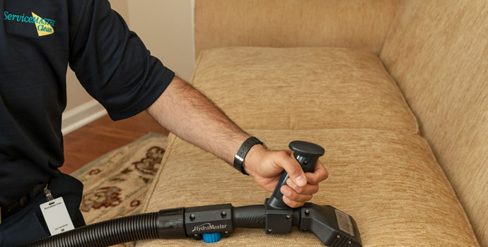 ServiceMaster Chicago residential upholstery and furniture cleaning services