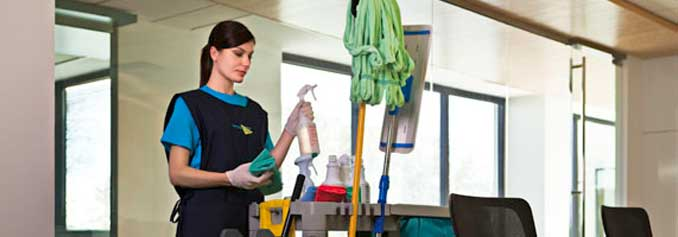 Des Moines IA commercial janitorial services, office cleaning