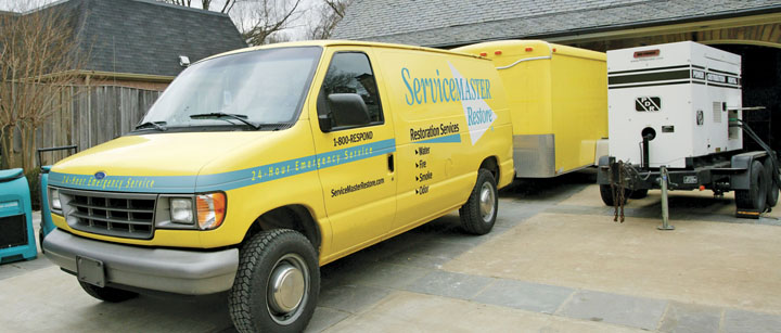 ServiceMaster Specialty restoration in Ashland, WI, Green Bay, and Michigan