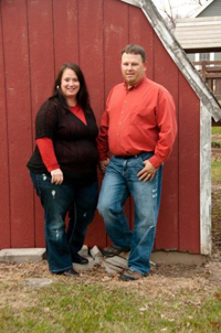 Shelly and Robbie Bodsberg, owners of ServiceMaster Cleaning Services Menomonie WI