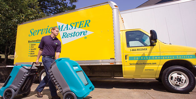 ServiceMaster DSI cleaning and restoration kansas city,