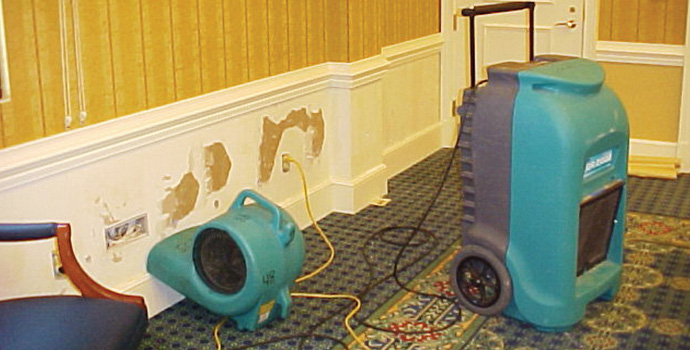ServiceMaster residential commercial dehumidification, water extraction kansas city, St. joseph MO, overland park KS
