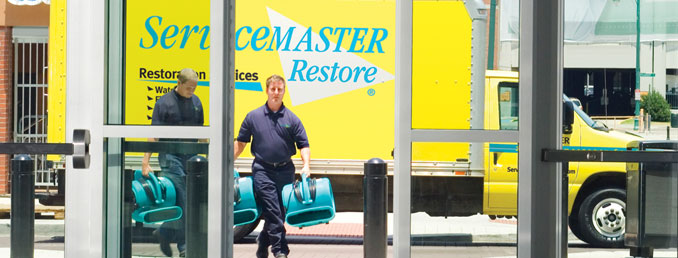 ServiceMaster national catastrophic response and restoration